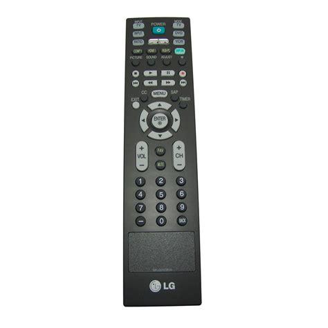 Remot Tv Lg Original original lg remote for 42lc4d tv television projector dvd 18 99 picclick