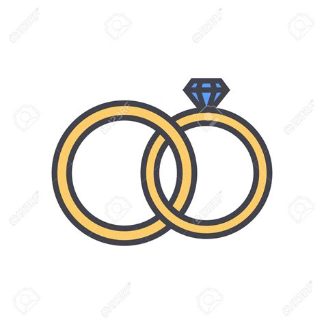 wedding ring clip color wedding engagement clipart clipart collection