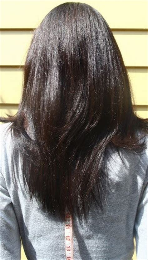 hairstyles for short u cut u shaped hemline long hair pinterest v shaped