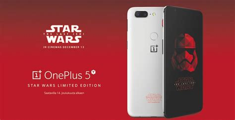 Gadget Toaster Oneplus 5t Star Wars Edition Heading For Europe But You
