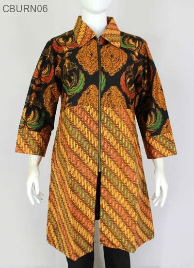 tunik batik alusan trikot ritz motif klasik seling blus