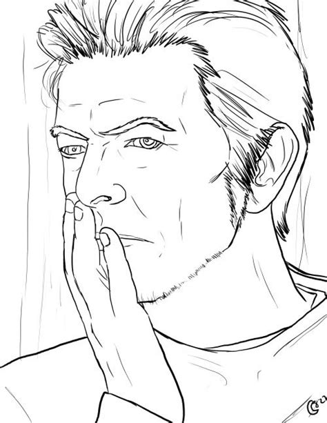 david bowie color david bowie coloring book search coloring pages