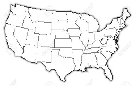 Drawing 50 States by Map Of Usa Drawing At Getdrawings Free For Personal
