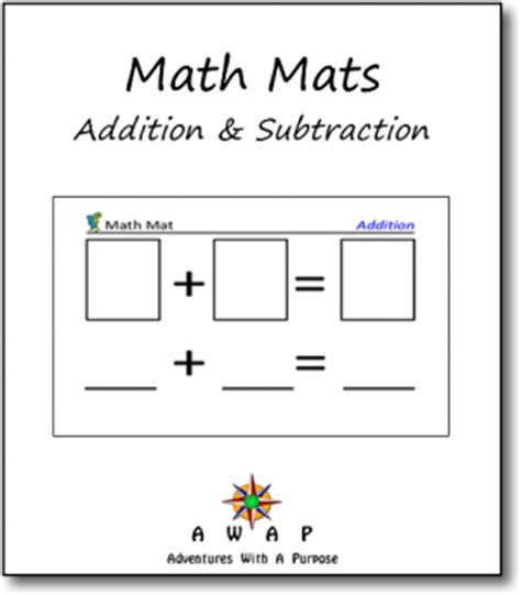 Mat Mathematics by Free Math Mats Addition And Subtraction Blessed Beyond A Doubt