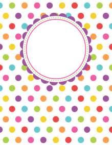 printable binder cover templates free printable polka dot binder cover template