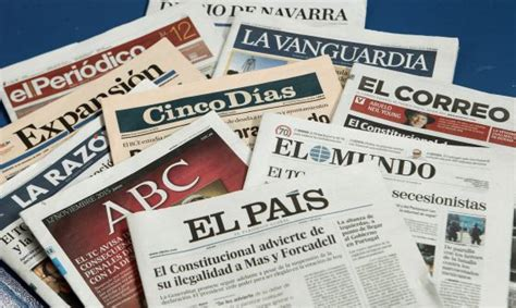 imagenes english newspaper media in spain newspapers respond to charges made by the