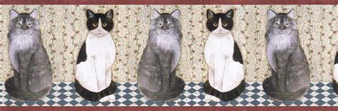 Cat Wallpaper Border