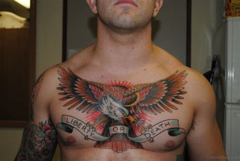 american traditional chest tattoo 60 graceful eagle tattoos on chest