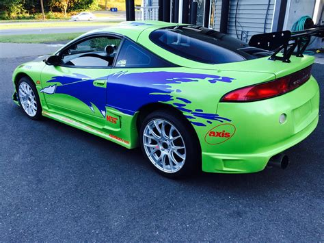 fast and furious eclipse for sale replica of the mitsubishi eclipse paul walker drove in the