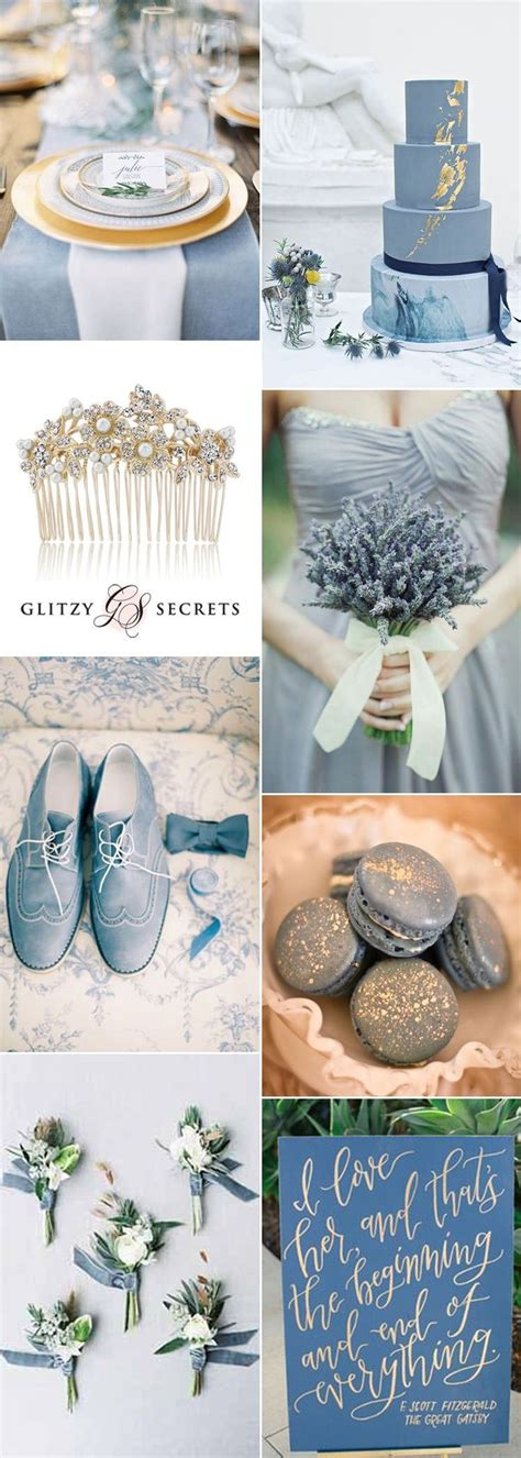 best 25 blue gold wedding ideas on