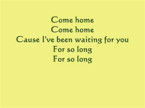 come home onerepublic with lyrics