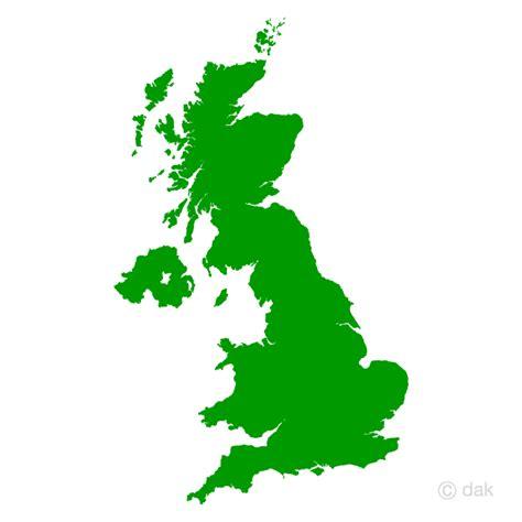 Free UK map silhouette image?Free Cartoon & Clipart