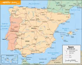 Map If Spain by Pics Photos Map Of Spain
