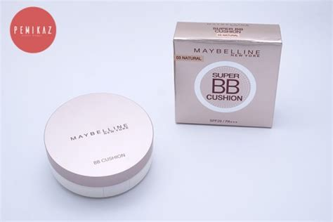 Maybelline Bb Cushion Di Counter pemikaz maybelline bb cushion spf29 pa ปกป ด