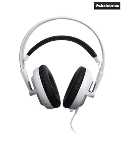 Headset Steelseries Siberia V2 White buy steelseries siberia v2 headset white at best