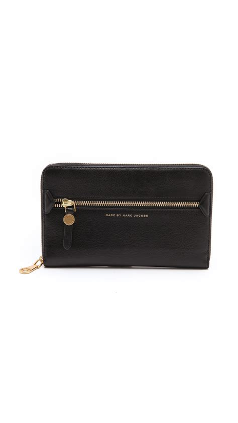 Marc By Marc Dot Travel Wallet by Marc By Marc Globetrotter Travel Wallet In Black Lyst