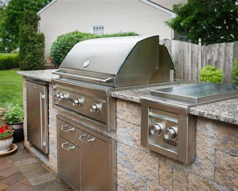 Backyard Grill Station Outdoor Grilling Station Traditional Patio Other