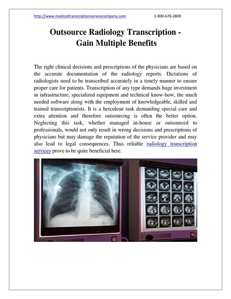outsource radiology transcription gain benefits by transcription issuu