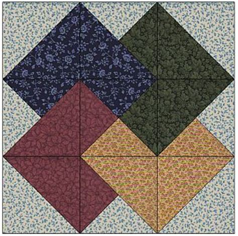 World Wide Quilting Page by Free Card Trick Quilt Pattern Lena Patterns