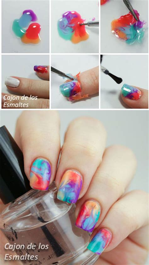 easy nail art for summer 15 simple easy summer nails tutorials for beginners