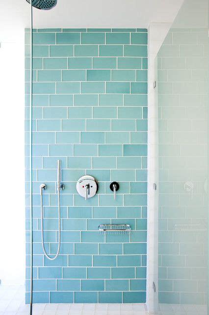 pretty tiles for bathroom beautiful aqua glass subway tiles the extension pinterest