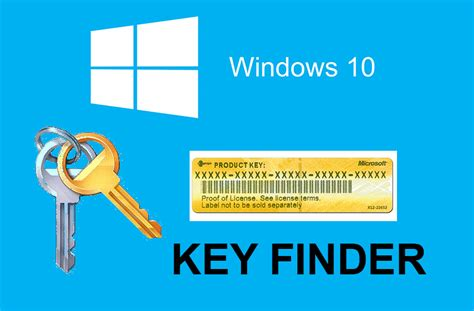 find windows 10 product key without using any software