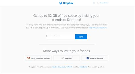 dropbox referral how to build a referral program inspired by dropbox