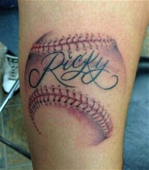 cool baseball tattoos baseball ideas