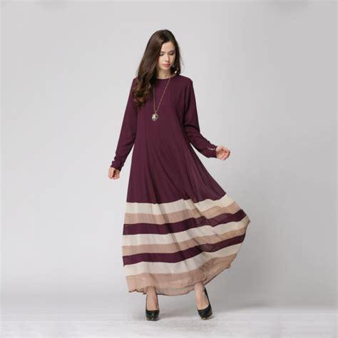 Dress Wanita Maxi Dress Muslim Maski Dress s maxi dress kaftan jilbab islamic abaya muslim daily dresses in dresses