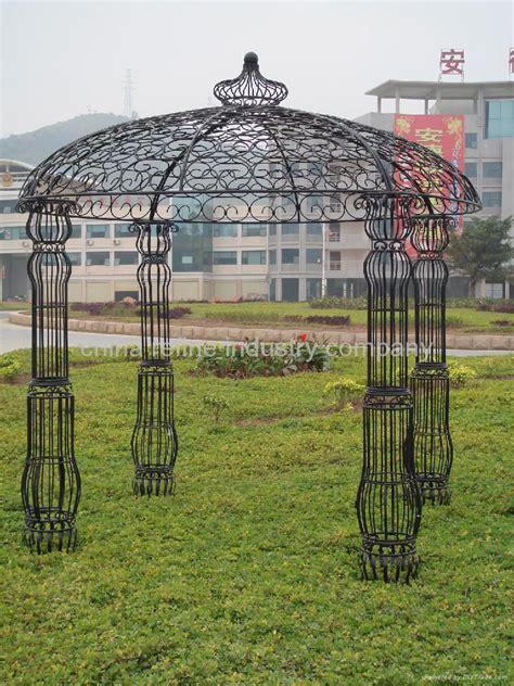 Gardening Wrought Iron Garden Gazebo Hl001 Refine China Wrought Iron Pergola Kits