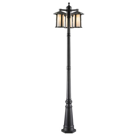 light post with electrical outlet design house black l post with cross arm and electrical