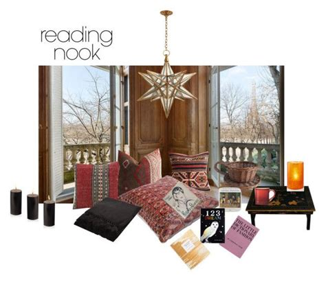 quot reading nook quot by erggoe liked on polyvore featuring