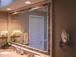 Bathrooms Mirrors Ideas Bathroom Mirror Frames Ideas 3 Major Ways We Bet You Didn