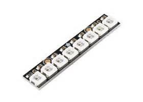 En Neopixel Stick 8 X Ws2812 5050 Rgb Led neopixel stick 8 x ws2812 5050 rgb led robot gear australia