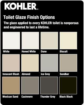 toilet colors kohler toilets faucetdirect