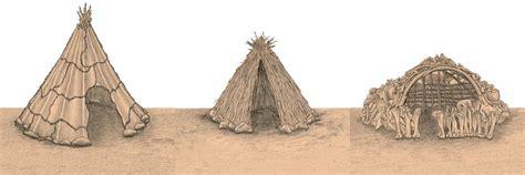 hutte nomade le mode de vie de n 233 andertal n 233 andertal si loin si