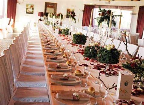 tavole apparecchiate per matrimoni matrimonio a natale