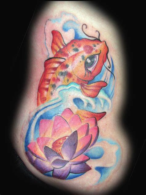 new school koi fish tattoo kelly s koi by kristel oreto tattoonow