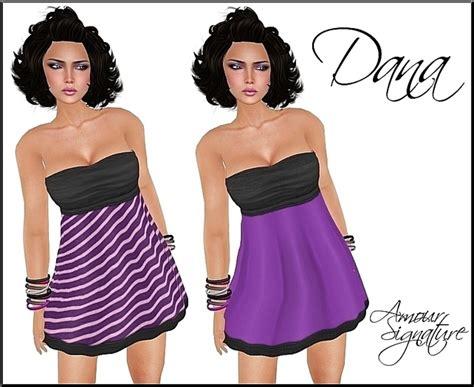Amour Grepe second marketplace amour signature mesh dress grape