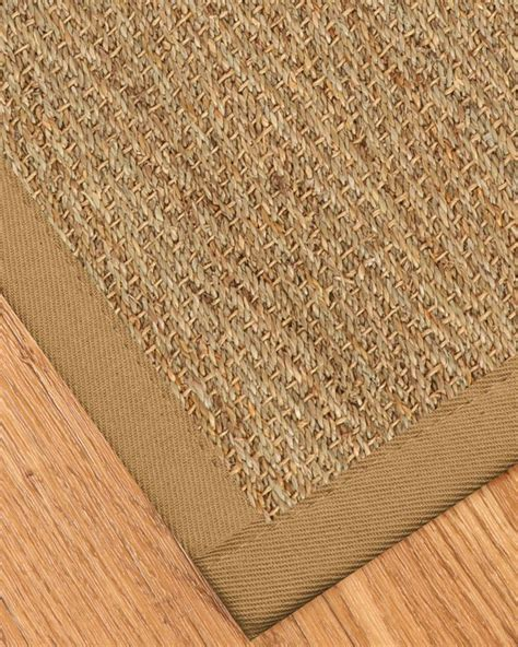 Opulence Seagrass Rug Sage Khaki Seagrass Rugs