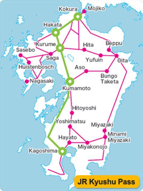 3 days northern kyushu jr pass tiket japan jr kyushu pass