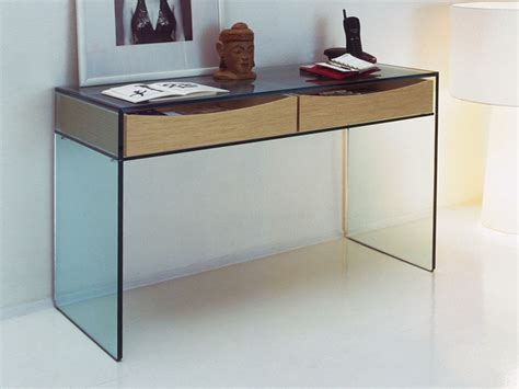 Glass Console Table Modern Randy Gregory Design How To Glass Sofa Table Modern