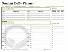 Free Student Planner Template Weekly Study Planner Template Calendar Template 2016