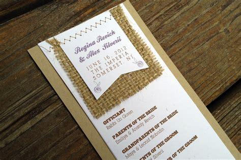 programs for wedding invitations wedding invitation inspiration ceremony program weddings