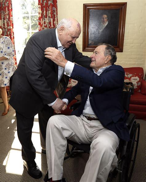 the 41st us president george h w bush mikhail gorbachev george h w bush 41st president of the