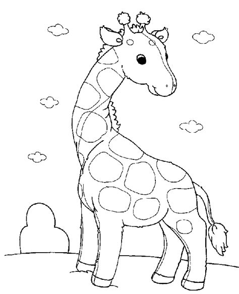 Free Baby Animal Coloring Pages coloring baby animals coloring pages