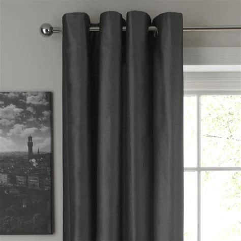 grey metallic curtains cashback colours by b and q metallic eyelet curtains grey