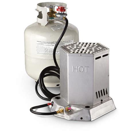 Outdoor Propane Heater. Outdoor Propane Heater With