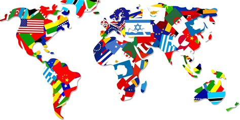 all flags map world flag map free stock photo domain pictures