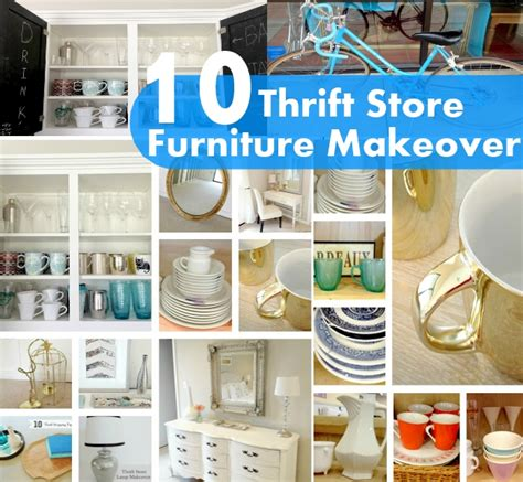thrift store diy home decor 10 thrift store furniture makeover diy home things